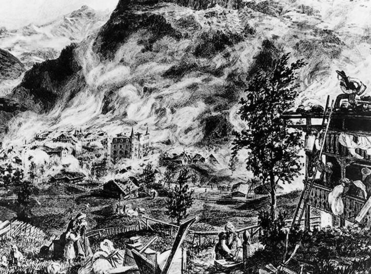Brand von 1892