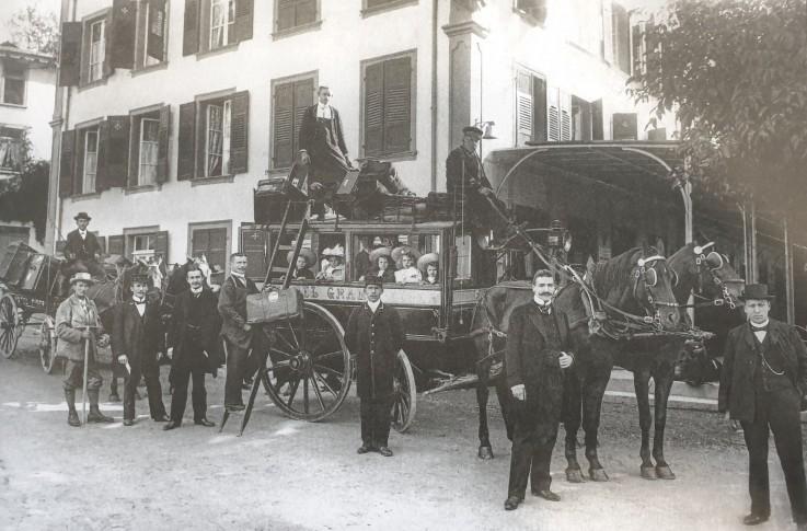Kutsche Grand Hotel Baer