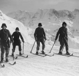 Eindrückliche «Skispuren» eines Briten.