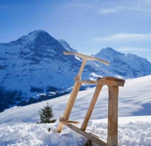 The velogemel. A curiosity of the Eiger Village.