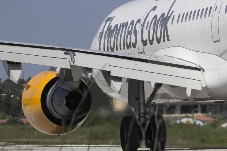 Flugzeug_Thomas Cook