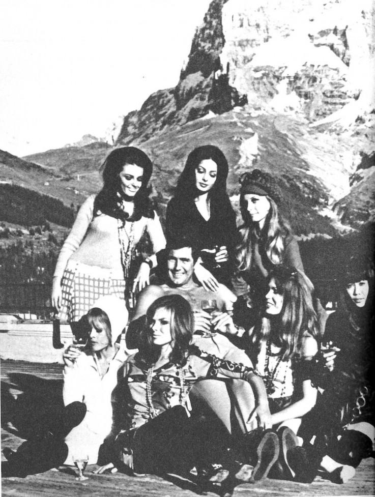 Bondgirls mit Lazenby