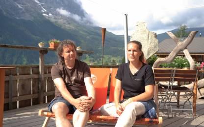 «MehrSicht» Geschichten aus dem Liegestuhl: Myriam und Bruno Kaufmann